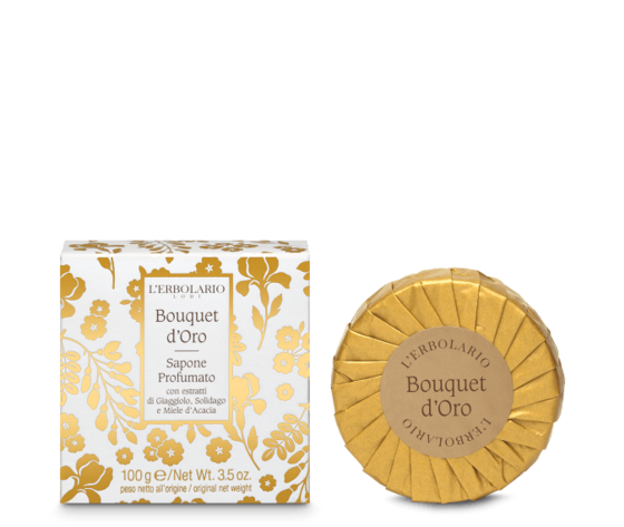 L'erbolario bouquet d'oro sapone profumato 100gr