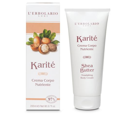 L'erbolario karit%c3%a8 crema corpo nutriente 200ml