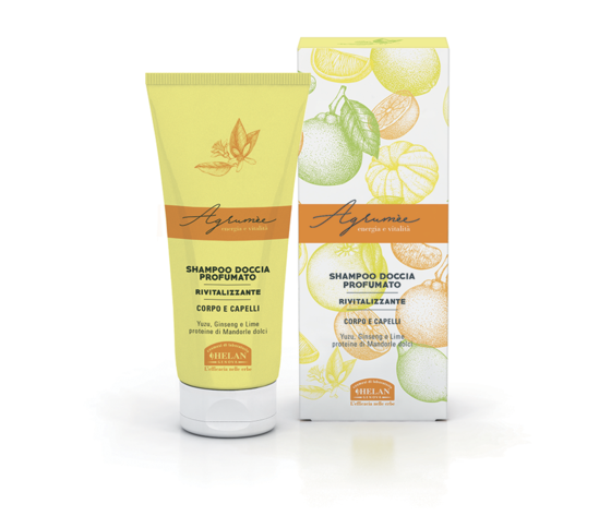 Helan agrum%c3%a8e shampoo doccia profumato rivitalizzante 200ml