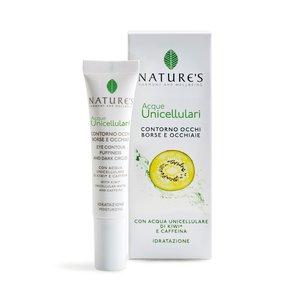 Nature's Acque Unicellulari Contorno Occhi Borse e Occhiaie 15 ml