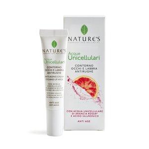 Nature's Acque Unicellulari Contorno Occhi e Labbra Antirughe 15ml