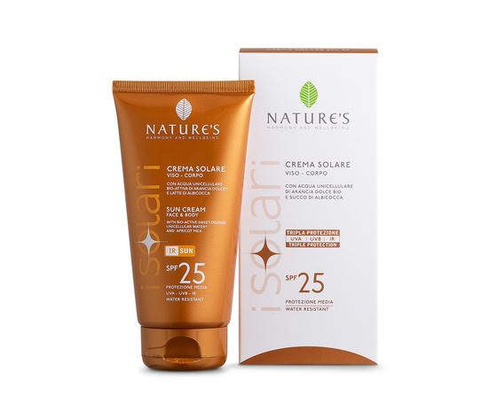 Crema solare viso corpo spf 25