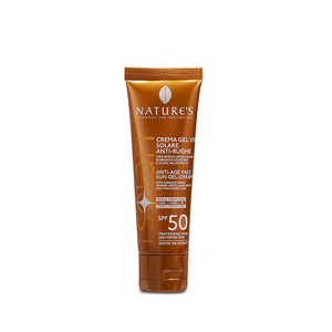 Nature's Crema-Gel viso Solare Antirughe SPF50 50ml