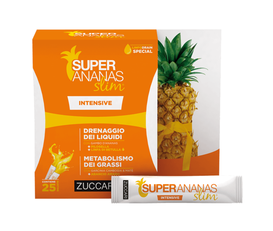 Zuccari super ananas slim prodotto intensive