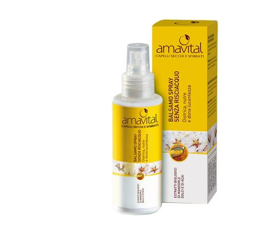 Amavital balsamo spray senza risciacquo 100ml