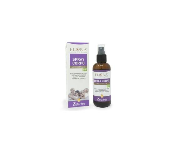 Spray corpo aroma efficace 100 ml zeta free