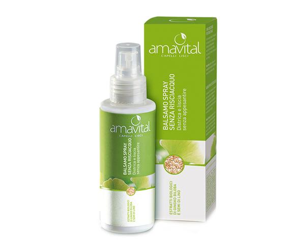 Amavital lisci balsamo spray senza risciacquo 100ml