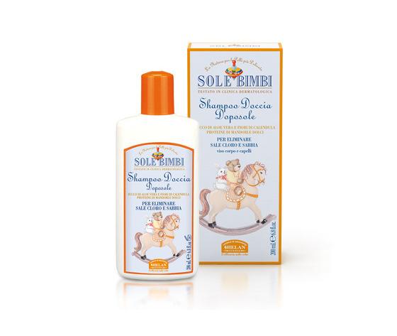 Helan sole bimbi shampoo doccia doposole 200ml