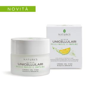 Nature's Acque Unicellulari Crema Gel Viso Riequilibrante 50ml