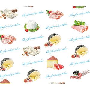 2000pz Carta accoppiata per alimenti 25x37 35gr