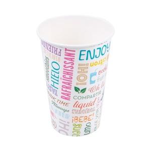 Bicchieri in cartoncino per bevande fredde 480ml