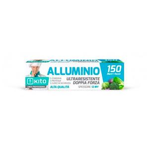 Rotolo alluminio Ultraresistente 150mt + Astuccio