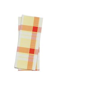 "Busta porta posate stampa ""scozzese giallo/rosso"" f.25x11 - 1000pz"