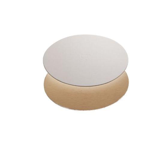 Disco sottotorta oro bianco