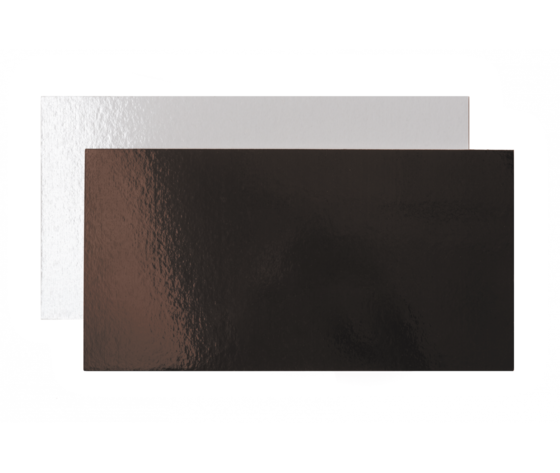 Vassoio sottotorta bianco e marrone