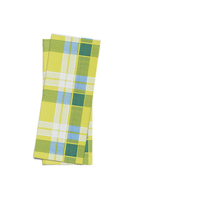 """Busta porta posate stampa """"scozzese blu/verde"""" f.25x11 - 1000pz"""