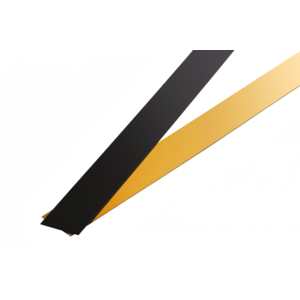 Fasce pasticceria in cartone Oro/Nero 10x70cm