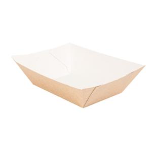 Barchette in cartoncino avana 480gr