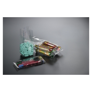 100pz - Sacchetti trasparenti con soffietto