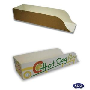 Scatole porta hot dog mini f.165x47x50 ct=1500pz