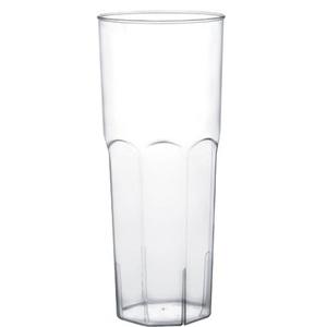 Bicchieri plastica cocktail long drink (vari)