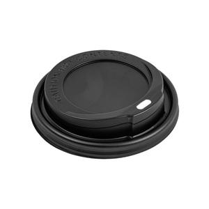 Coperchi neri per bicchiere bevanda calda 360/480ml - 1000pz