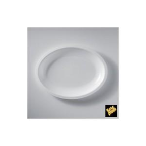 Piatto ovale bianco 25cm 600cc - 600pz