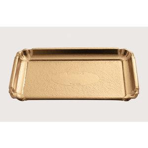 Vassoi Oro in cartone 27x38 -100pz