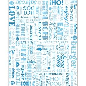 Carta antigrasso blu 28x34 - 1000pz
