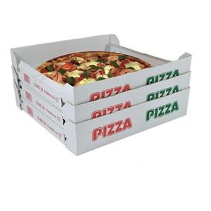 Scatole pizza aperte in formati vari