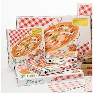 Scatole per pizza in cartone