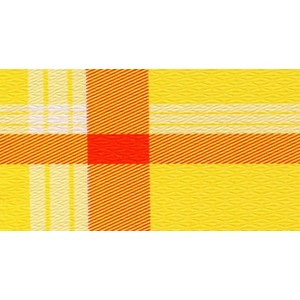Tovaglie in carta 100x100cm Giallo/Rosse - 250pz