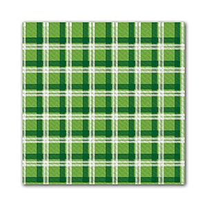Tovaglie carta 100x100cm verde/blu - 250pz