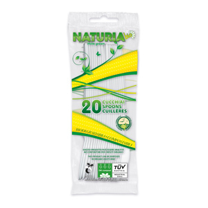 Cucchiai biodegradabili PLA 17,8cm