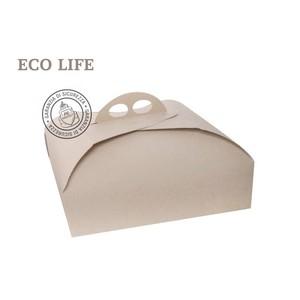 25 pz - Scatole porta torte quadrate Ecolife