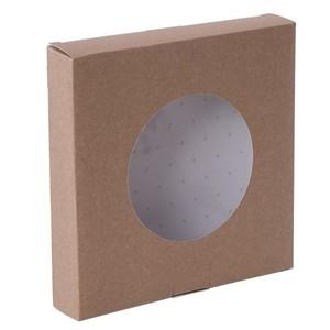 25pz - Scatole crostata con finestra Ecolife