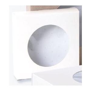 25pz - Scatole crostata con finestra Bianche