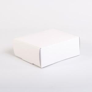 25 pz - Scatole Dama bianche