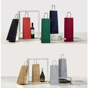 50pz Buste porta bottiglie 14+8,5+39,5cm