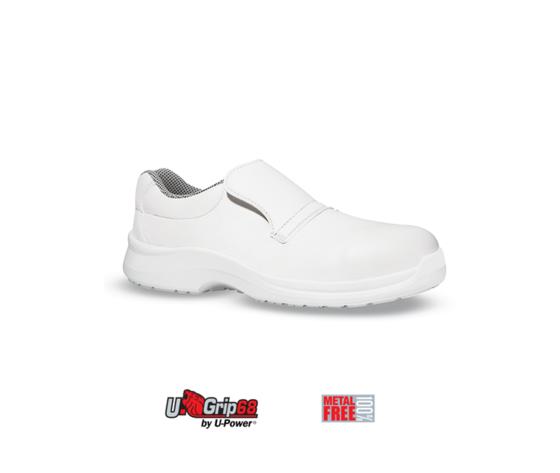 Scarpa antinfortunistica upower linea white68 black modello nurse grip