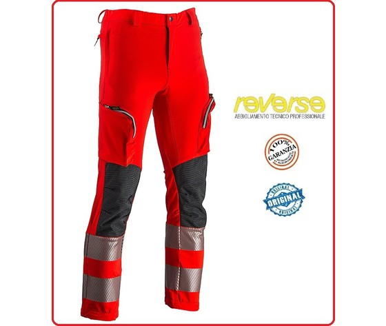 Pantalone vertical rosso cod 512hv