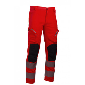 Pantalone REVERSE ETNA Cod. 523HV arancio fluo