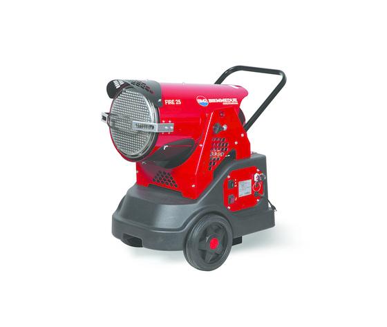 Fire25 generatori mobili raggi infrarossi biemmedue
