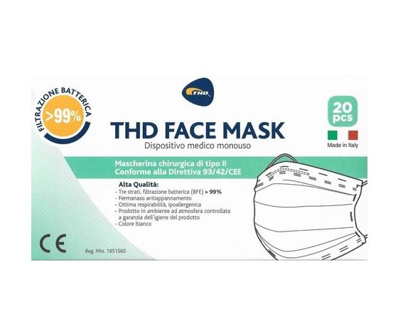 Mascherina chirurgica thd mask 20 pezzi
