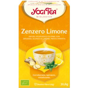 Yogi Tea Zenzero e Limone