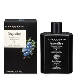 Shampoo Doccia Energizzante Ginepro Nero 250 ml