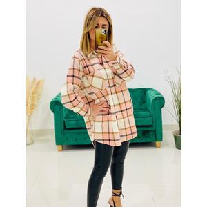 Camicia Scozzese Pink & Beige