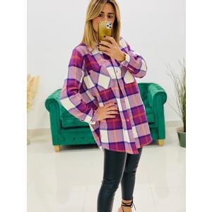 Camicia Scozzese Purple
