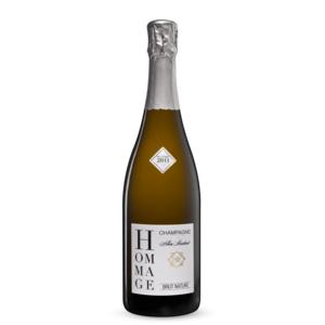 Champagne Hommage Brut Nature Zero Dosage Albin Martinot