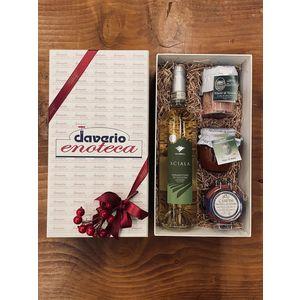 BOX MARE Vermentino di Gallura Superiore DOCG Surrau + Selezione prodotti Campisi e Frantoio di Sant'Agata di Oneglia